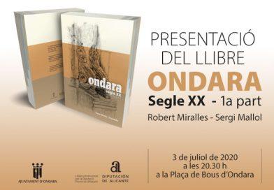 """Presentació de llibre """"Ondara, segle XX"""" (1a part)"""